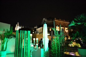 Vue sur le théâtre de Monaco