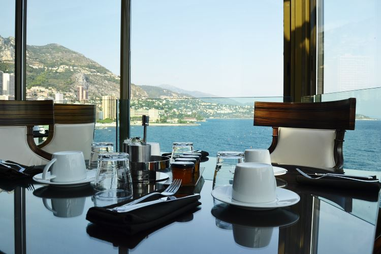 Breakfast at the Fairmont Monte Carlo