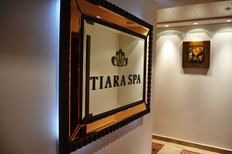 Spa entrance Tiara Miramar