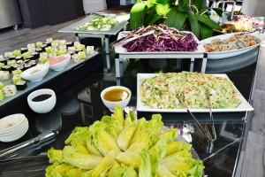 Salades et coeur de laitue