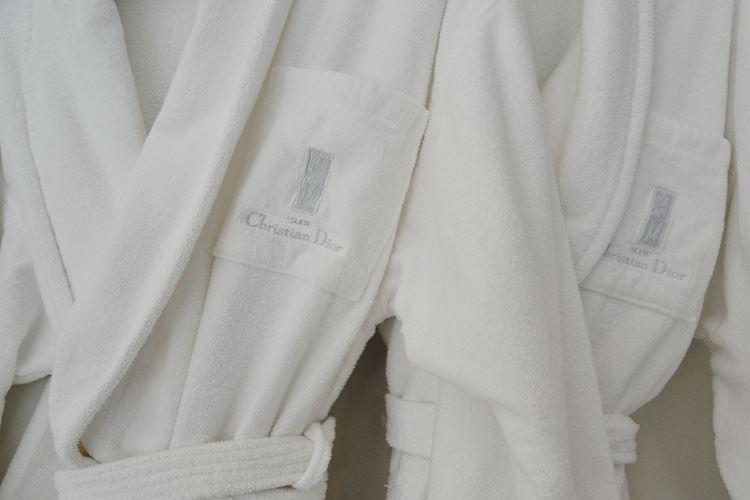 Dior bathrobe