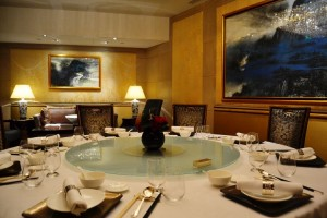 Table of the Shang Palace private room