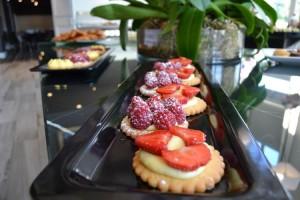 Tartelettes aux fraises et framboises