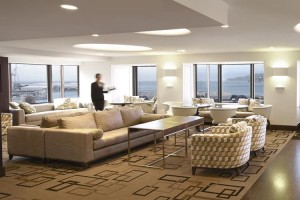Club Lounge de l'InterContinental Wellington