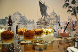 Speculoos, panacottas and smoothies in verrines