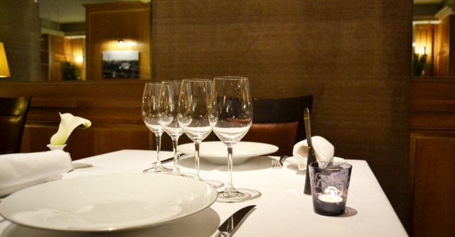 Dining at La Table du Baltimore in Paris