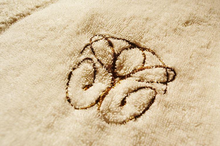 Luxury signed bathrobe