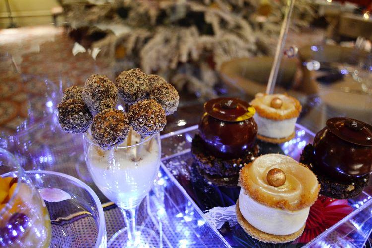 Chariot des desserts du Lumière