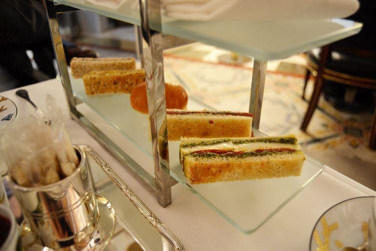 Finger-sandwiches raffinés