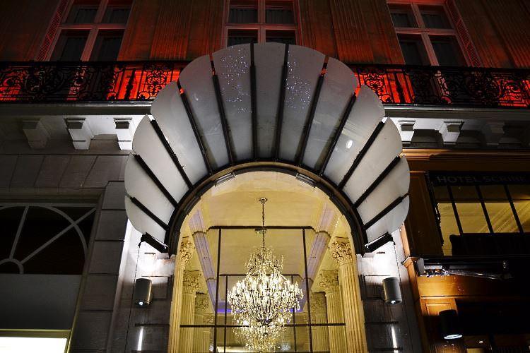 Hotel Scribe entrance