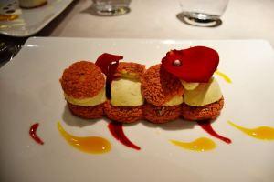 Pâtisserie à la vanille de Madagascar et rose
