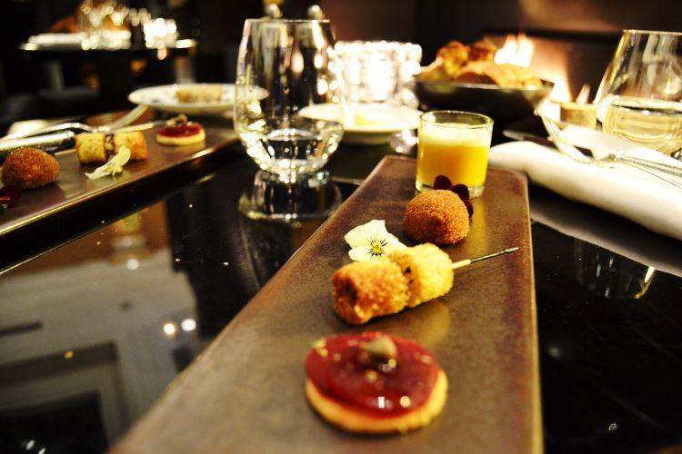 Gastronomic appetizers Patrick Charvet