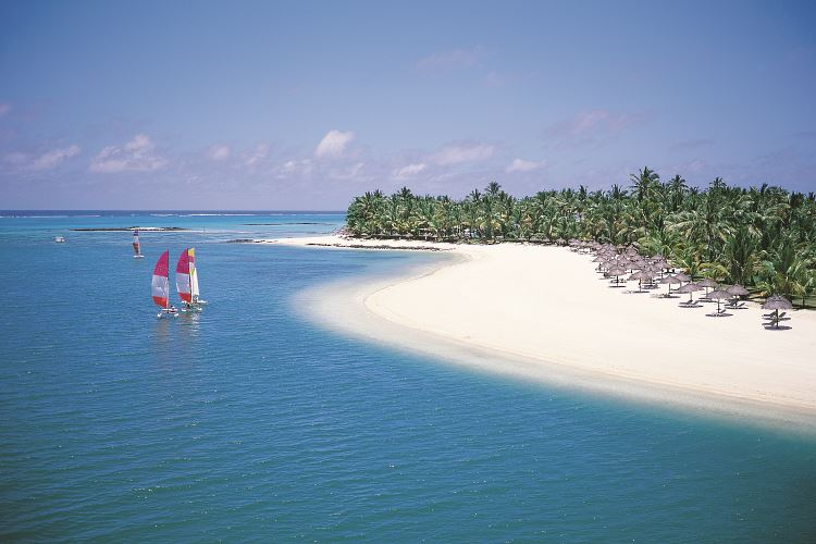 Mauritius beach One Only Le Saint Geran