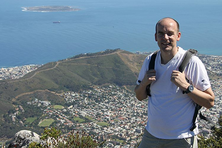 Paul on Table Mountain