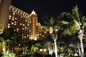 Atlantis Dubai by night