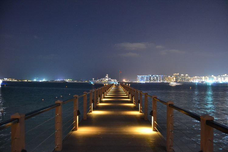 Jetty Lounge at the Royal Mirage Dubai