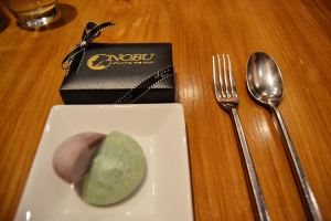 Chocolates and sorbet
