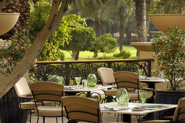 Olives restaurant Dubai Royal Mirage