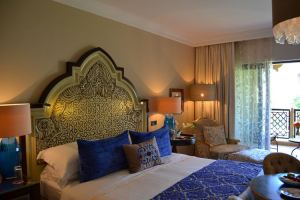 Guest room at the Arabian Court