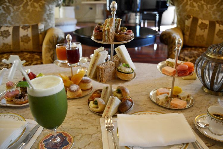 Tea time au Royal Mirage Dubaï