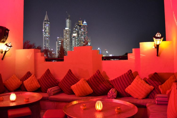 Le Rooftop Lounge Royal Mirage Dubaï