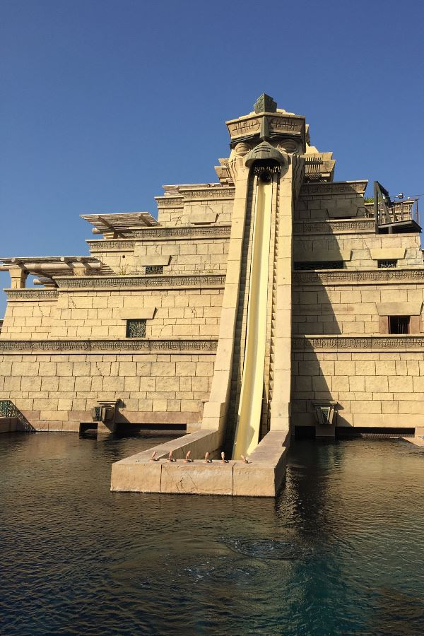 Aquaventure Waterpark à l'Atlantis de Dubaï