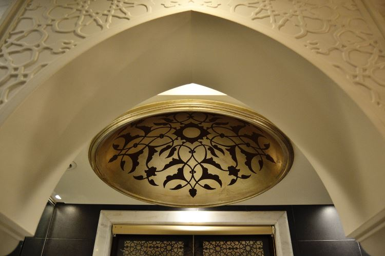 Arabic bathroom decoration