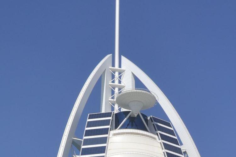 Burj Al Arab heliport Dubai