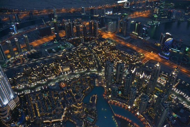 Dubai view Burj Khalifa