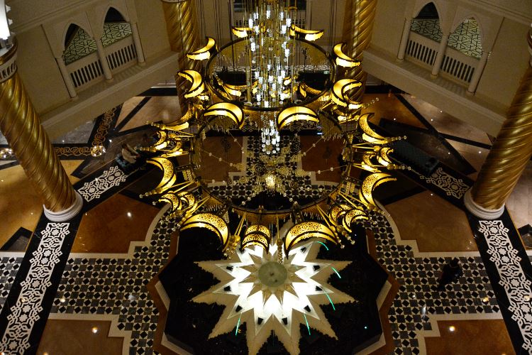 Jumeirah Zabeel Saray Dubai lobby