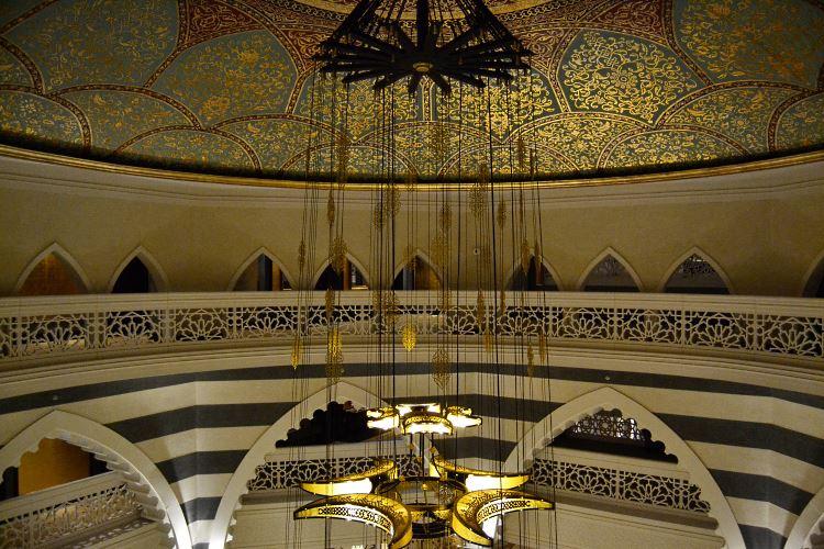 Zabeel Saray Dubai atrium