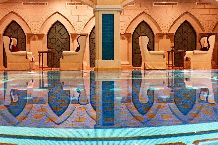 Swimming pool at the Talise Ottoman Spa - Zabeel Saray