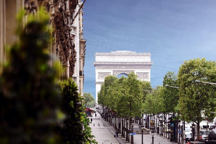 Hôtel Barrière Le Fouquet's Paris – Chambre Exécutive vue Champs Elysées