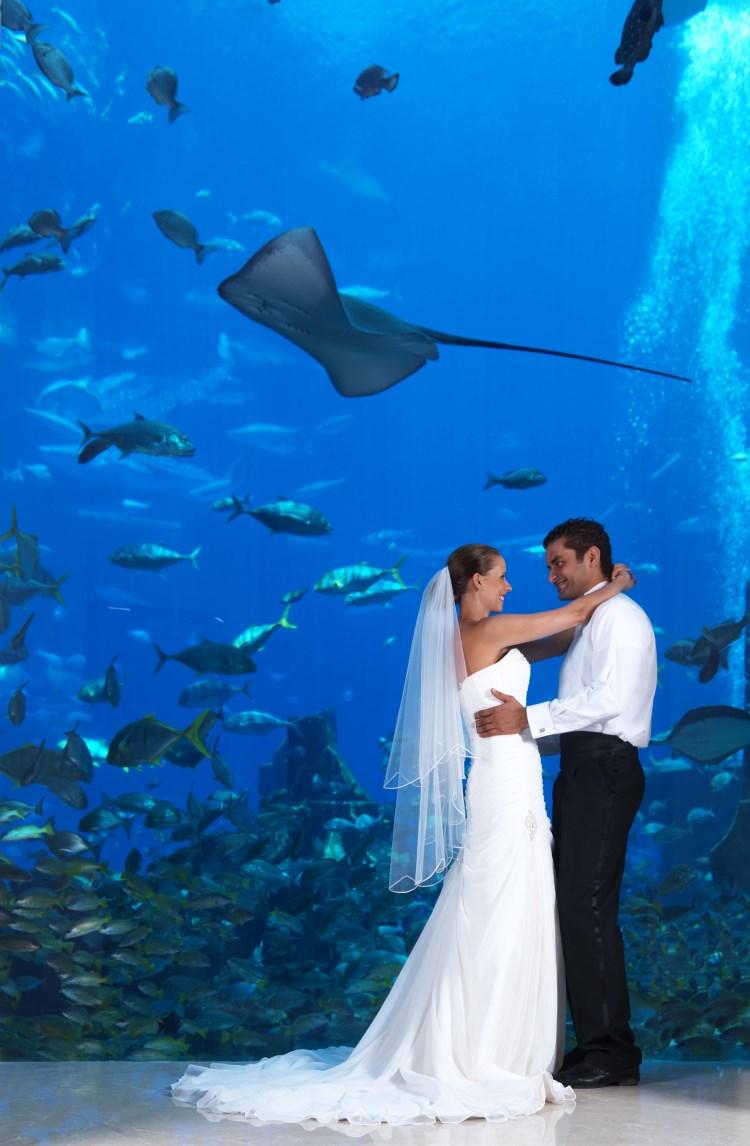 Wedding at the Atlantis The Palm