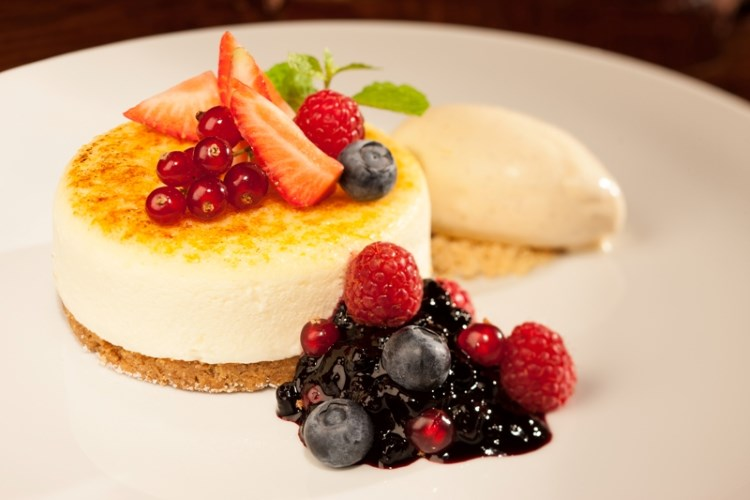 Atlantis The Palm - Le cheesecake du restaurant Seafire