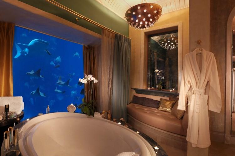 Atlantis The Palm - Salle de bains de la suite Underwater