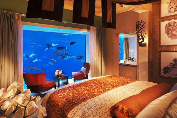 Atlantis The Palm - Chambre de la suite Underwater