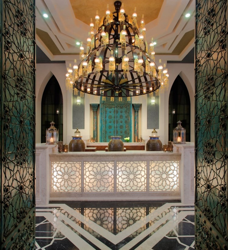 Jumeirah Zabeel Saray - Talise Ottoman Spa - Réception