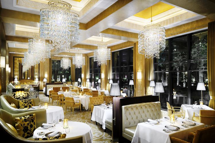 Restaurant Celebrities Royal Mirage Dubaï