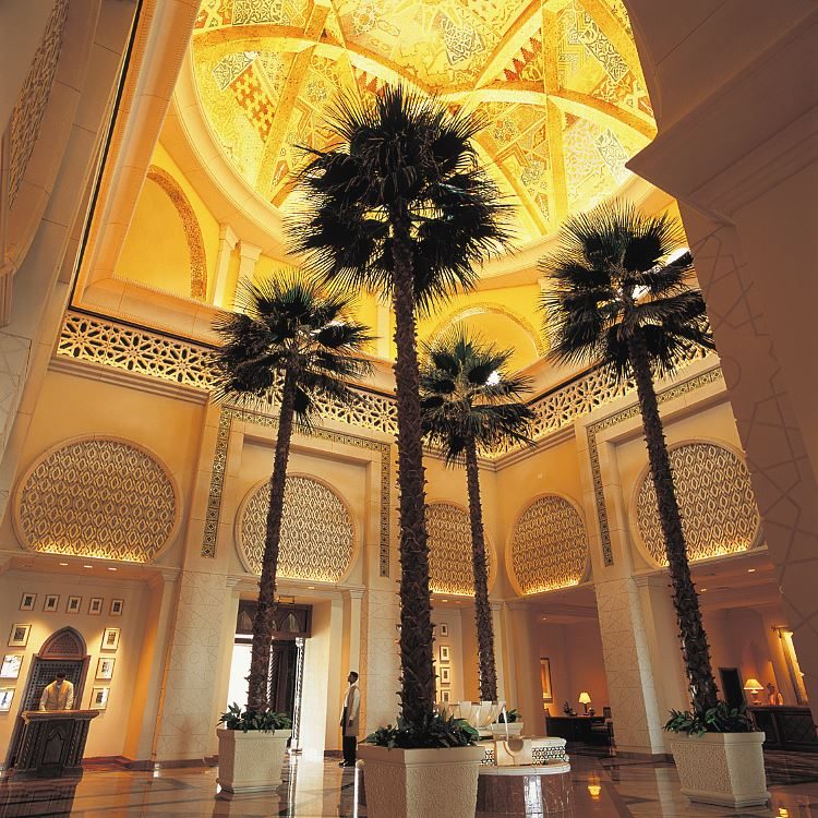 Royal Mirage lobby The Palace