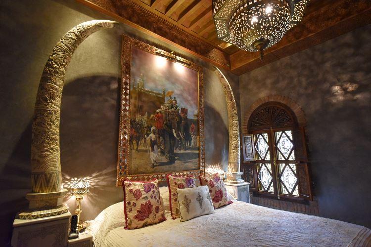 Hotel La Sultana Marrakesh bed