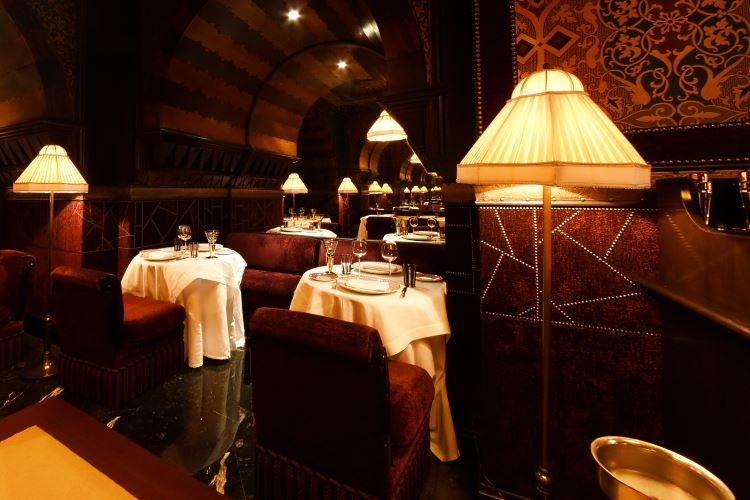 Italian restaurant La Mamounia Marrakesh