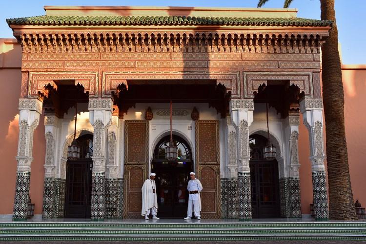 La Mamounia Marrakesh Entrance