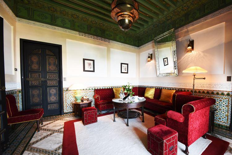 La Mamounia Marrakesh Executive Suite Living Room