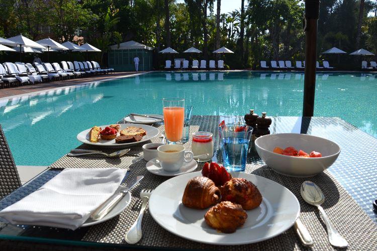 La Mamounia Marrakesh breakfast