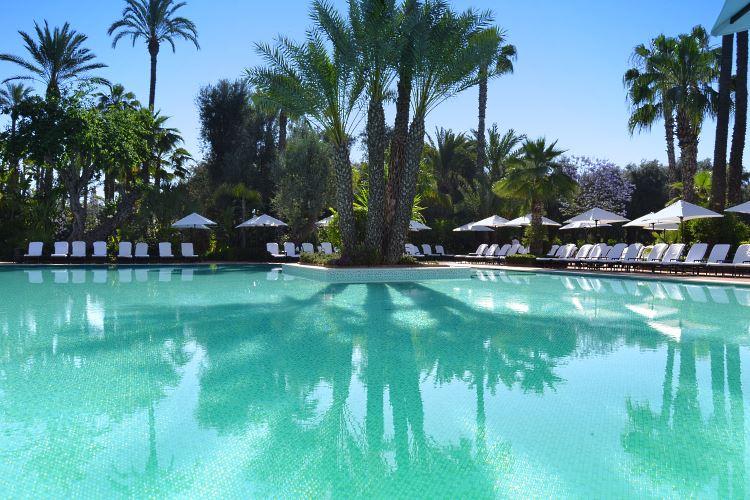 La Mamounia Marrakesh pool