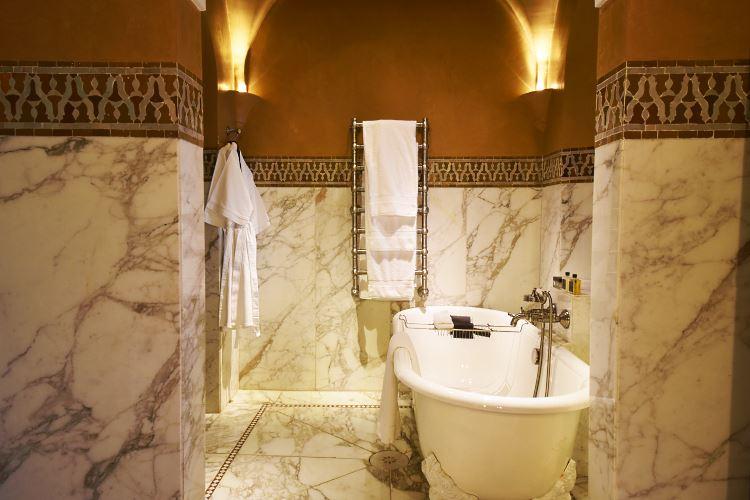 La Mamounia Marrakesh bathroom