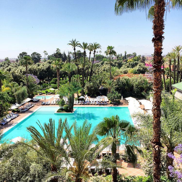 La Mamounia pool Marrakesh