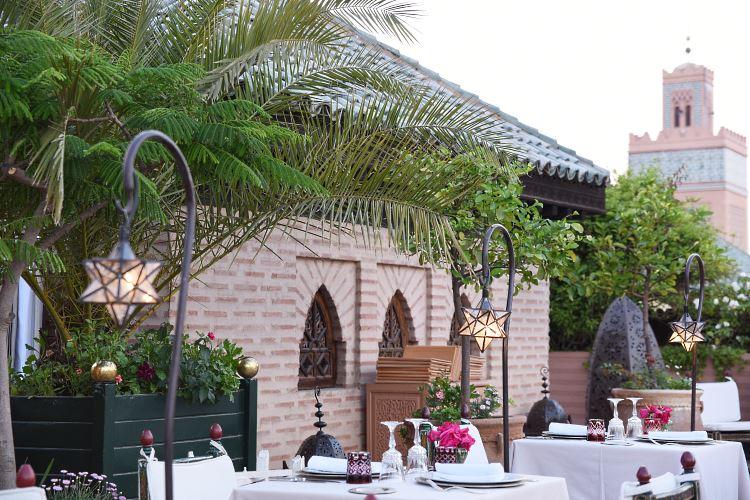 La Sultana Marrakesh restaurant
