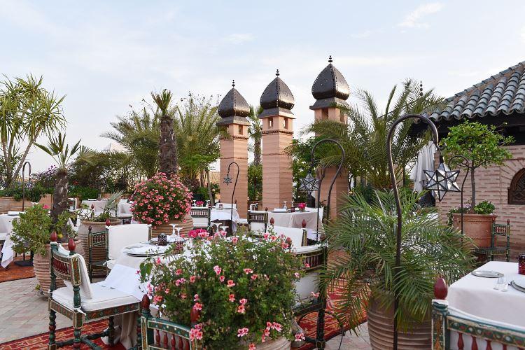 La Sultana Marrakesh terrace